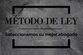 MÉTODO DE LEY