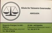 Abogado accidentes Sevilla Silvia De Talavera Gawronska