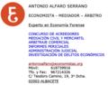 Perito Economista Albacete Antonio Alfaro Serrano