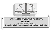 JOSE A. CARDONA GIRALDO