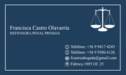 Francisca Castro defensora penal privada