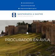 Procurador en Ávila Santamaría & Sastre Procuradores