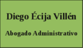 Abogado Administrativo Madrid - Diego Écija Villén