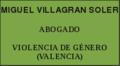 Abogado Violencia de Género Valencia MIGUEL VILLAGRAN SOLER