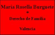 Abogado de Familia Valencia - Maria Rosella Burguete