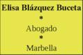 Abogado Marbella - Elisa Blázquez Buceta