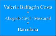 Abogado Civil / Mercantil Barcelona - Valeria Balfagón Costa
