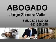ABOGADO TERRASSA - JORGE ZAMORA VALLE