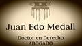 Abogado Accidentes Castellón Juan Edo Medall
